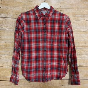 Pendleton vtg petite s plaid button down flannel
